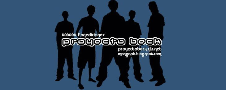 Proyecto Beck: Fanediciones Manga en español.