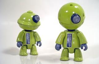 mike slobot friendly robot art GRUNMICRO