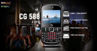 Fly CG588 CDMA GSM Mobile