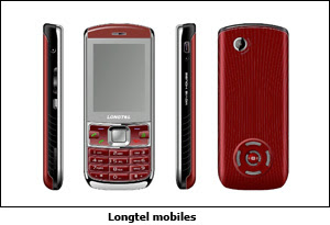 Longtel Mobiles in India
