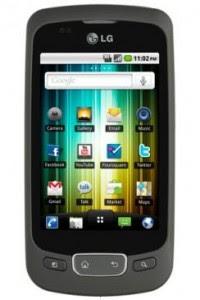 LG Optimus One Android SmartPhone India