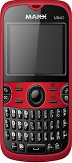 Maxx MQ430 QWERTY Dual SIM Mobile