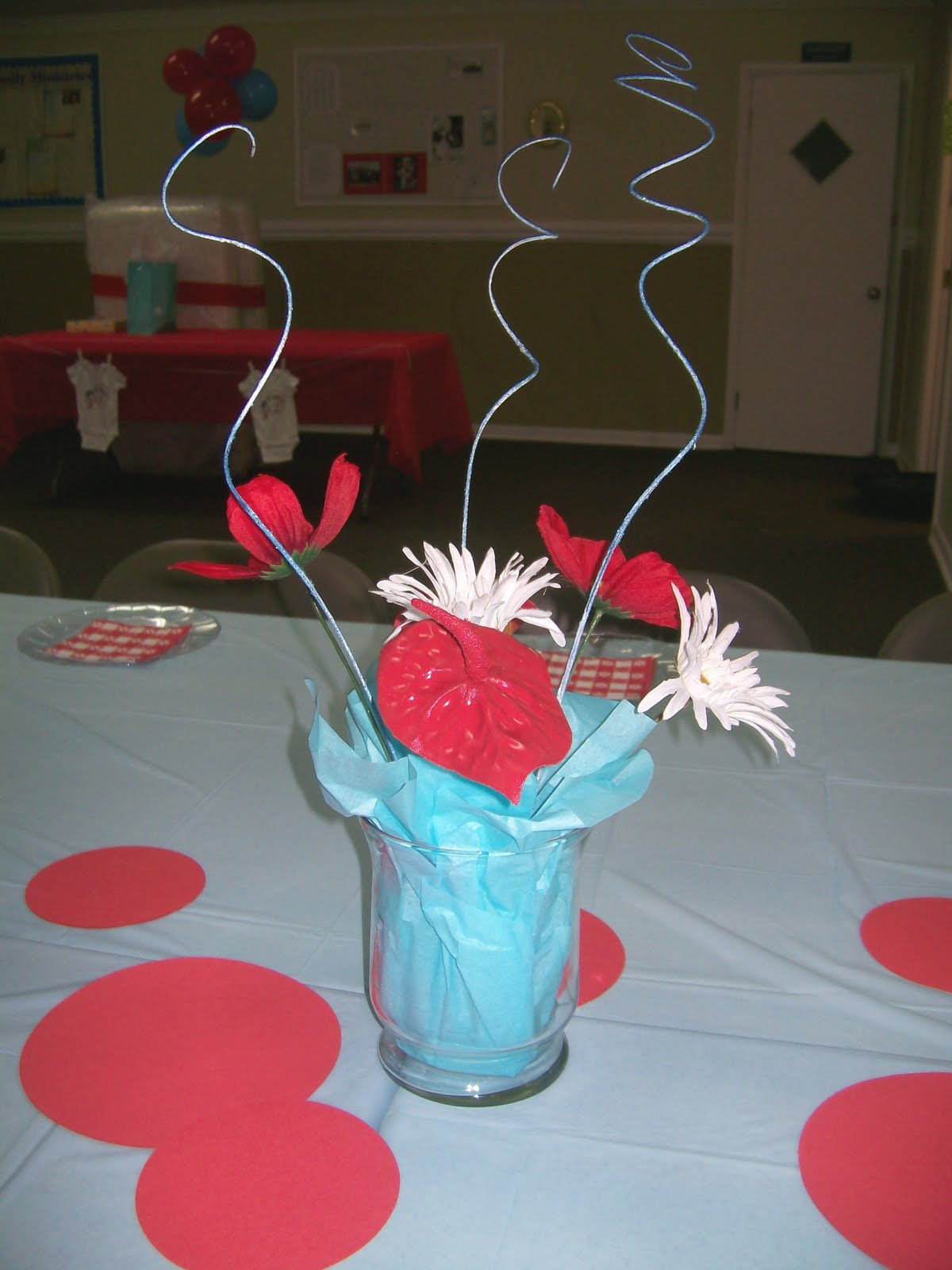 Christina s Creative Side Thing 1 Thing 2 Baby Shower