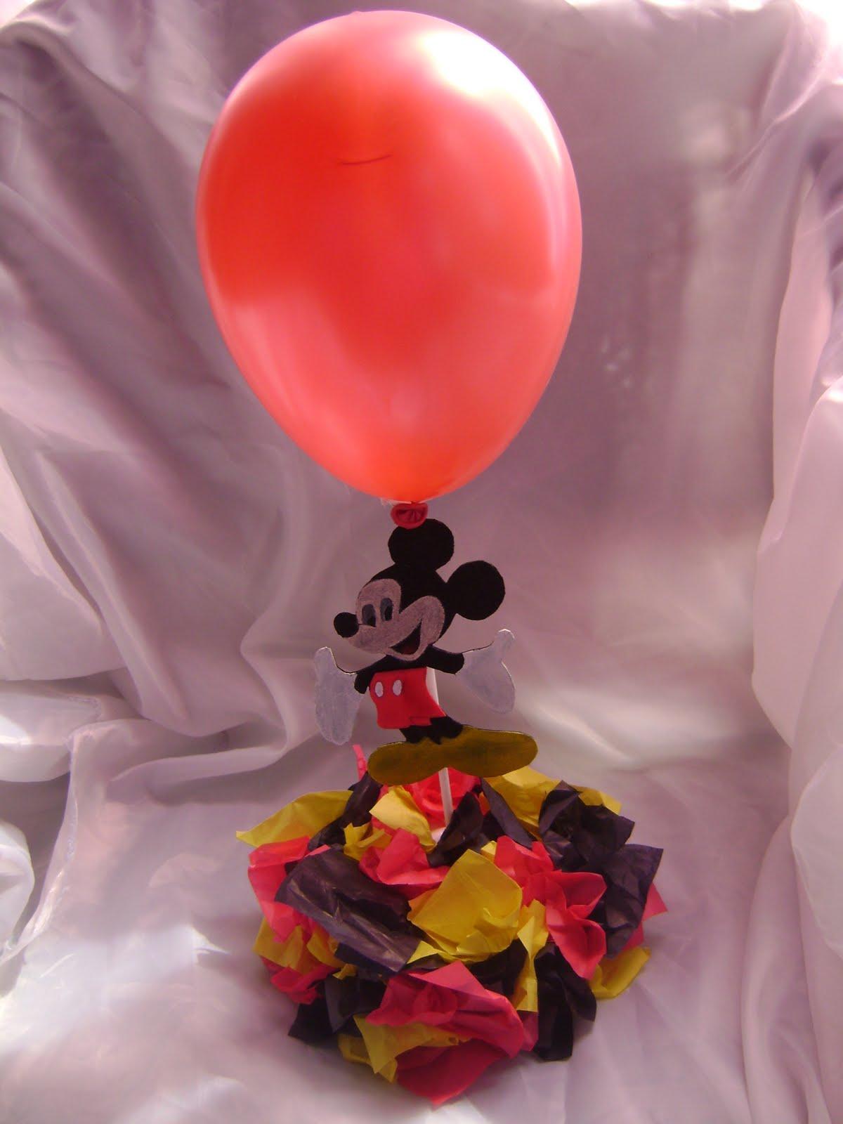 Centro De Mesas De Mickey Mouse