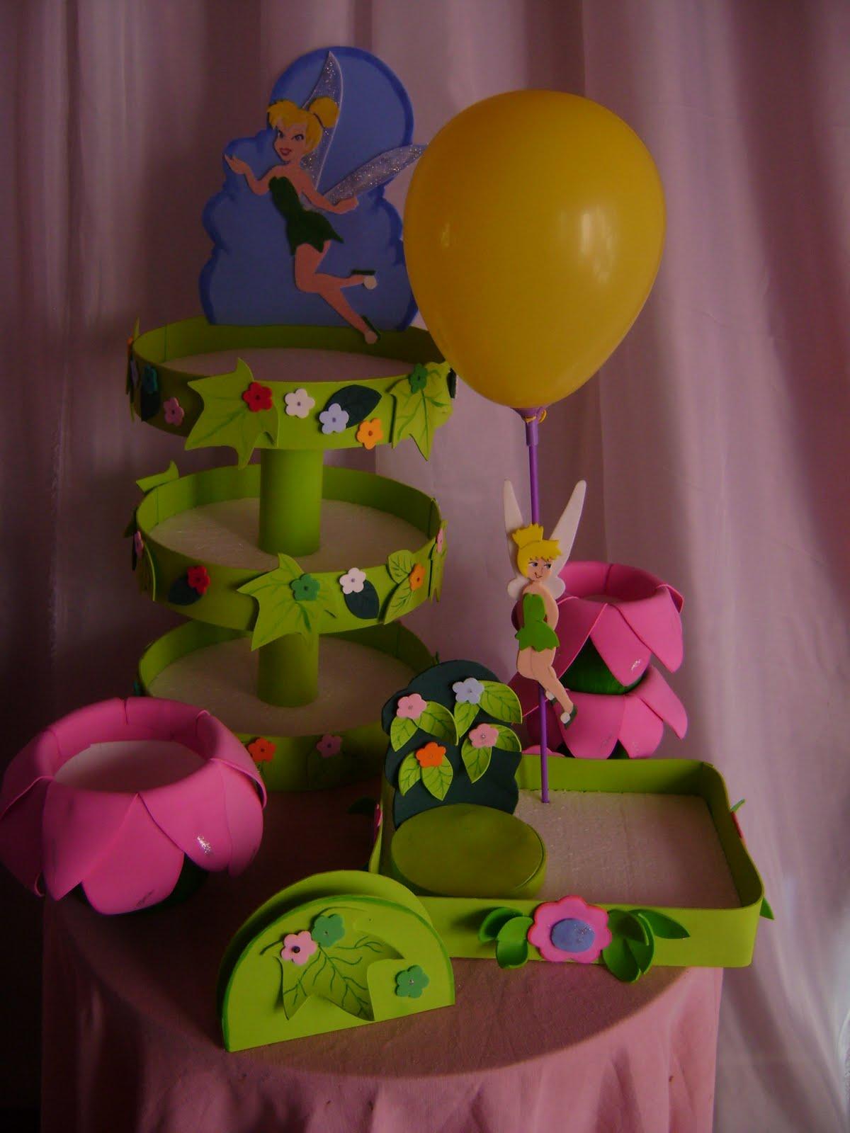 Violetina decoraciones alquiler de bandejas y decoracion - Decoracion cumpleanos nina ...