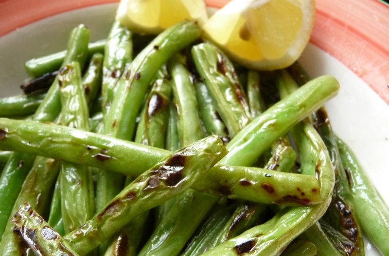 Grilled Green Beans With Harissa Recipes — Dishmaps