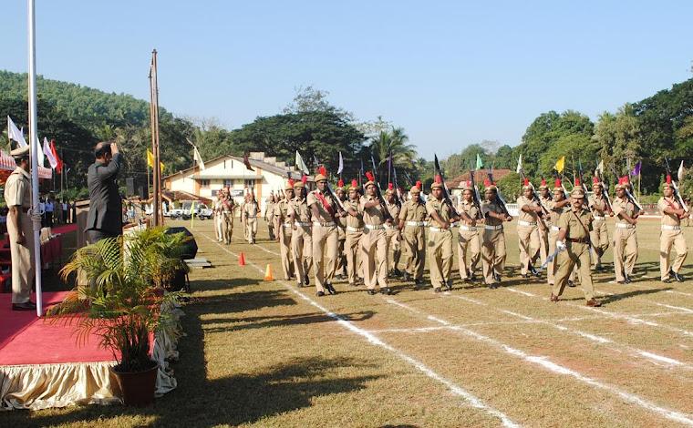 Goa Liberation day parade 2010 at Ponda