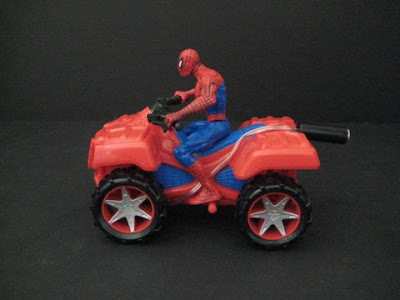 switch adapted spiderman toy
