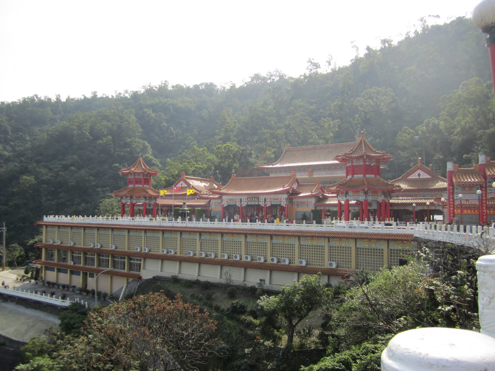 The Taoist Temple on the mountain The