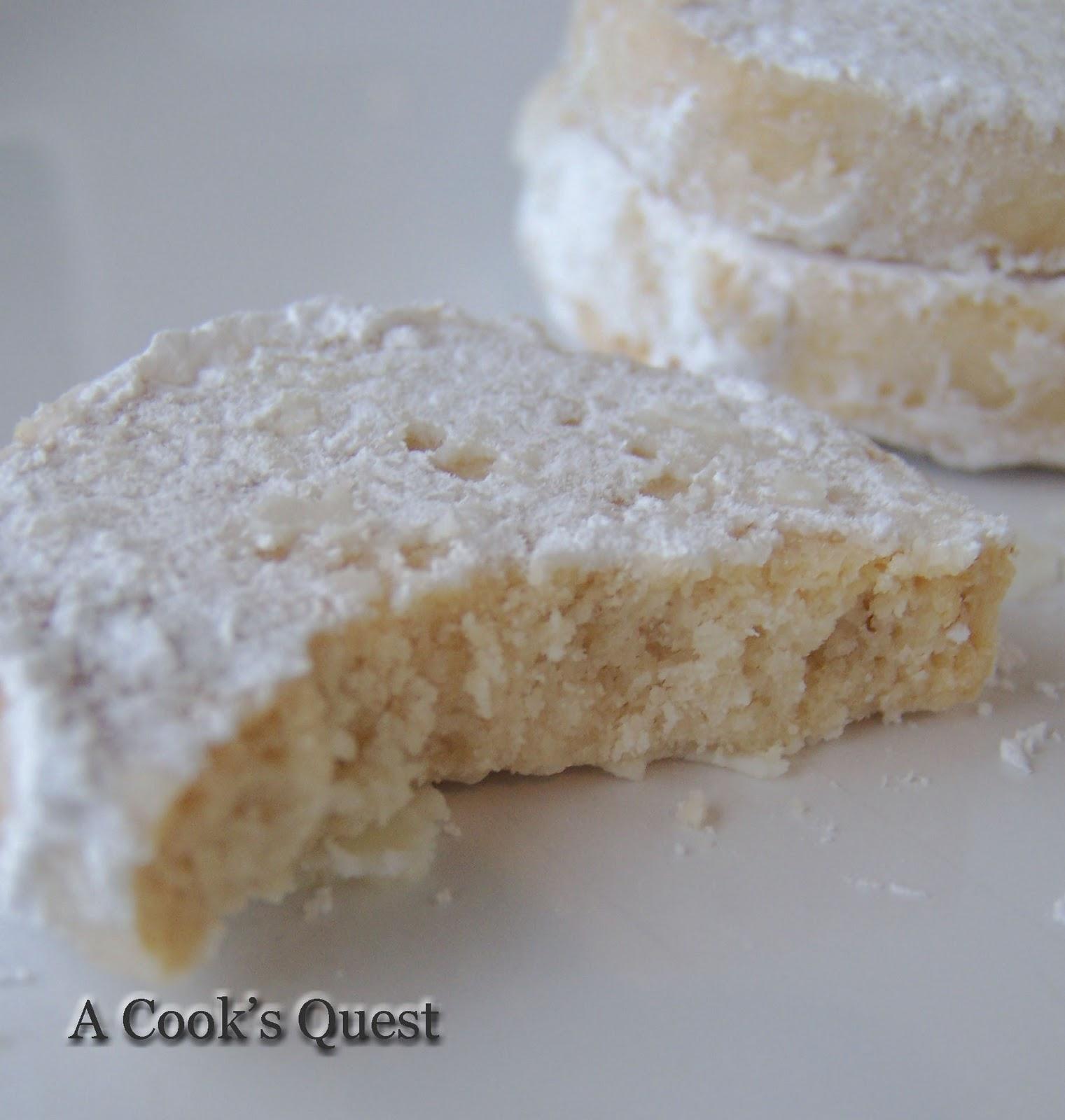 A Cook's Quest: Lemon Meltaways