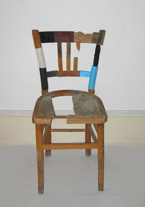 La chaise (état en octobre 2008)
