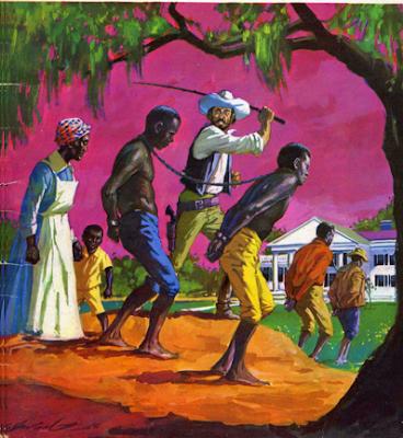 Esclavo azotado en la rueda - 5 5