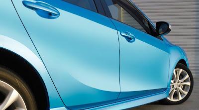 fold-down rear seatback Mazda 3