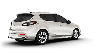 Mazda3 5-Door aggressive, sport design