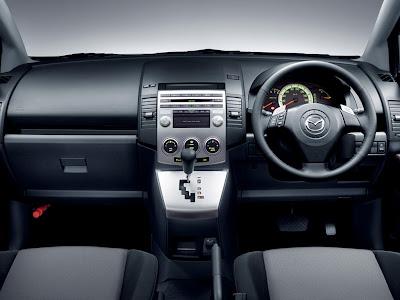 Mazda Premacy Interior