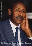 His Excellency ambassador Dr. Maxamed Saciid Samatar (Gacaliye)