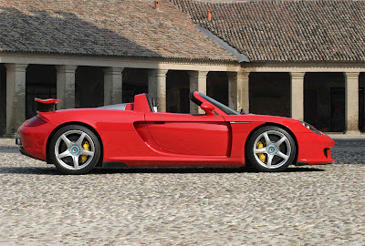 Porsche Carrera GT 2007 Wallpapers in Red