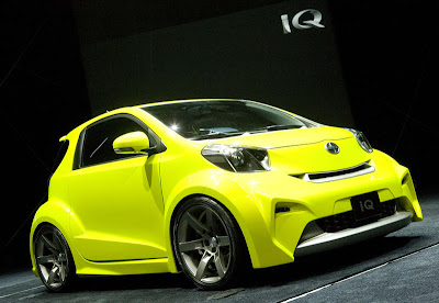 2009 Scion iQ concept Wallpapers