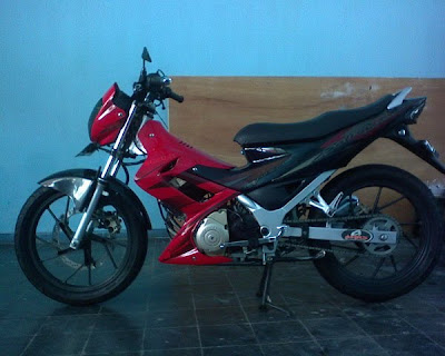 Photo Modifikasi Satria Fu150
