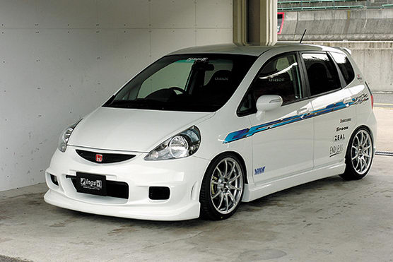 Honda Jazz Modification