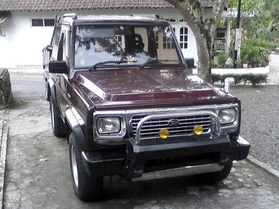 Modifikasi Blog Dijual Daihatsu Feroza Th 1994