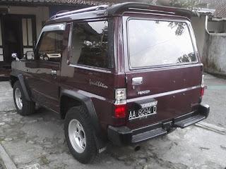 Modifikasi Daihatsu Feroza