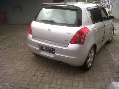 Suzuki swift 2008 Modif