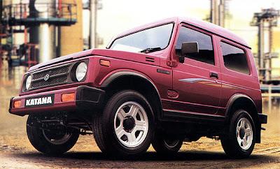 Suzuki Katana Merah Original