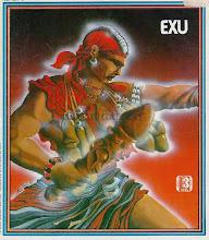 Orisha Art: EXU<br> A Nubian Knight
