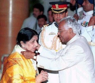 Awards won by legendary Lata Mangeshkar