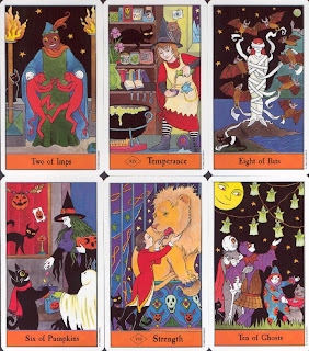 Tarot Card Collection on Halloween