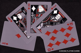 Halloween Game Playing Card