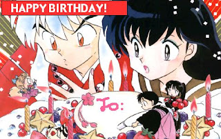 Anime Birthday Wish Cards