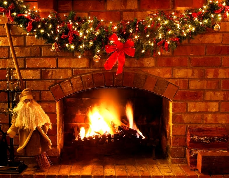 Christmas Fireplace Animation Images & Pictures - Becuo