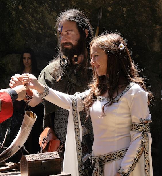 Boda vikinga en España