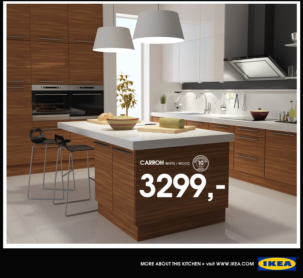 Summer In Newport: IKEA Kitchen