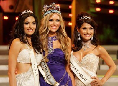 Parvathy Omanakuttan is Miss World First Runner 2008