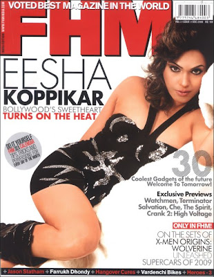 Isha Koppikhar on cover of FHM