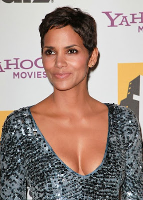 Halle Berry cleavage show at 14th Annual Hollywood Awards Gala