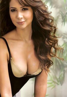 Kim Sharma Bikini Photoshoot for Maxim India