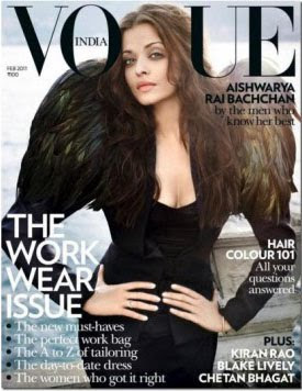 Aishwarya Rai on Vogue cover