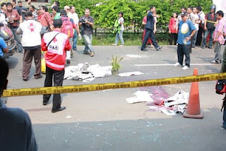kerusuhan di jalan Ampera<br />