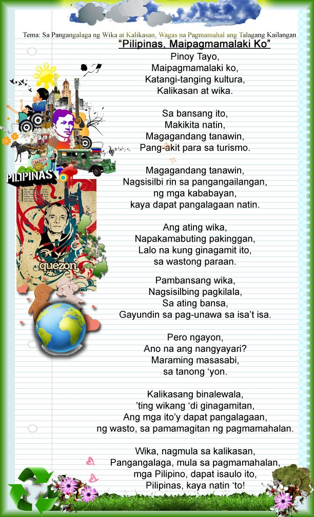 Custom writing essay nutrition month tagalog 2016