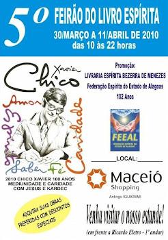 5° FEIRÃO DO LIVRO ESPÍRITA - ALAGOAS