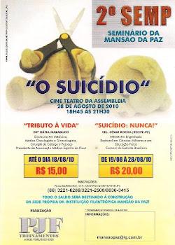 2° SEMP SEMINÁRIO DA MANSÃO DA PAZ