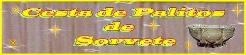 CESTA DE PALITOS DE SORVETE