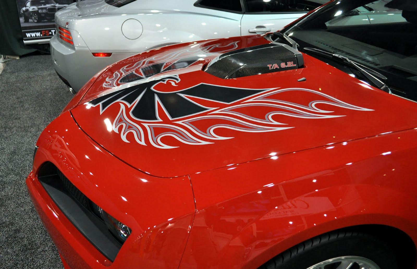 Car Black Blog New Camaros Built To Look Like Firebirds
