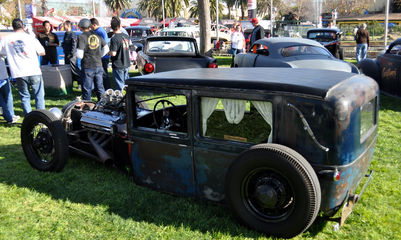 the rat rod version of a