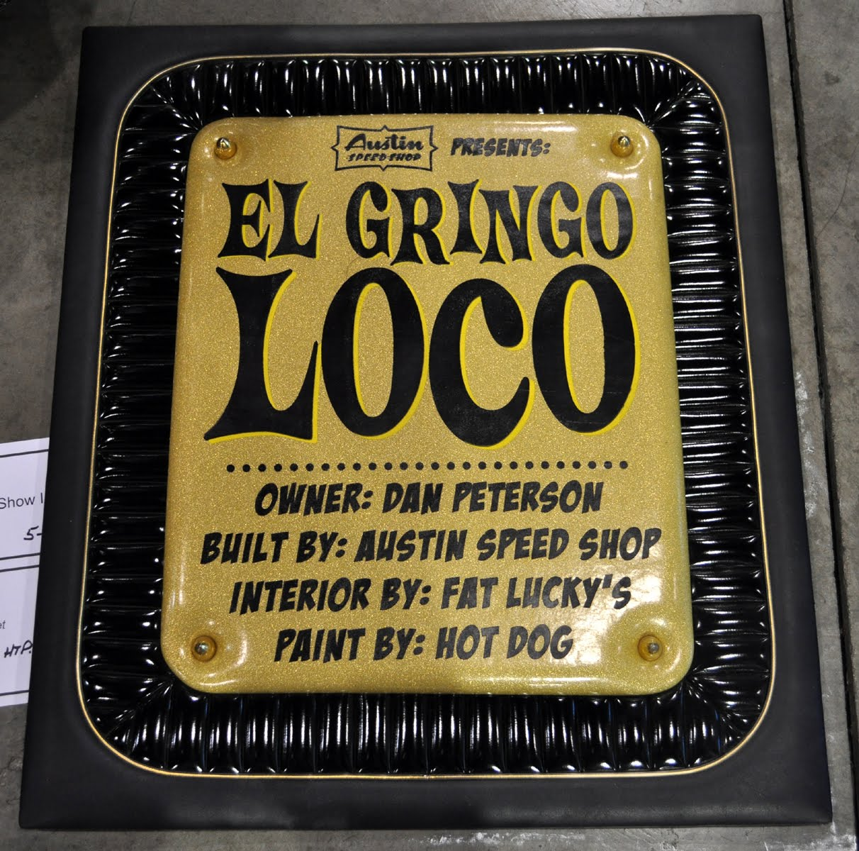 "Austin Speed Shop's ""El Gringo"