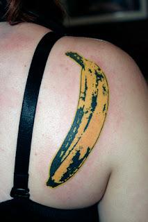 tatuagem banana